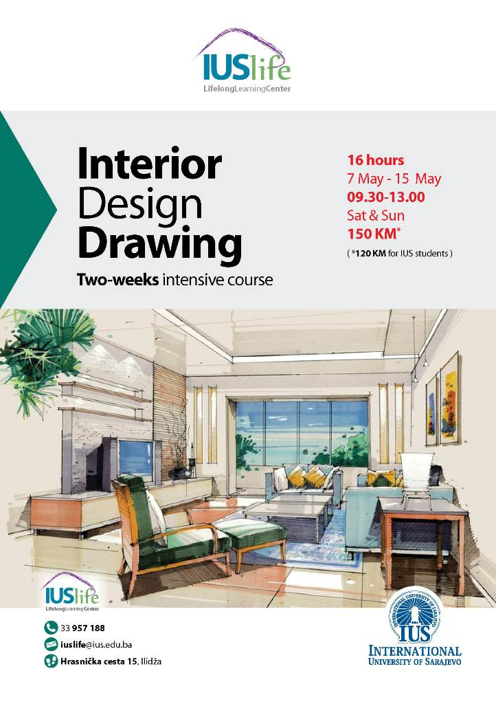 interior design drawing ius life